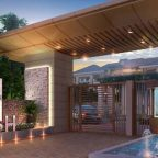 pinecare properties lush villa main entrance with canopy